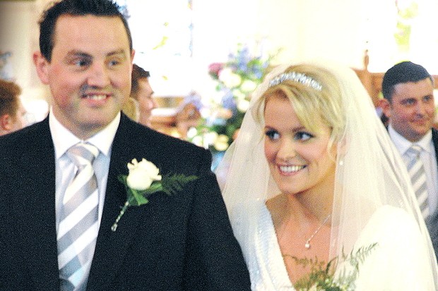 Jemma and Mark Kettyle married at St Patrick's Church in Drumbeg, with a wedding reception at the Galgorm Hotel.