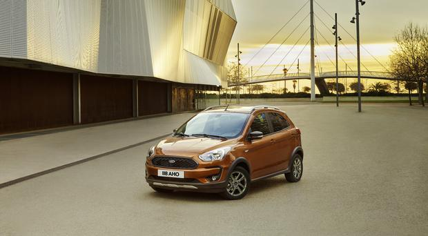 Ford Ka Active From City Car To Rugged Urban Cruiser In One Bold Leap