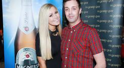 Laura Faulkner, Magners Brand Manager, and Neil Cole, NI Gossip Guy