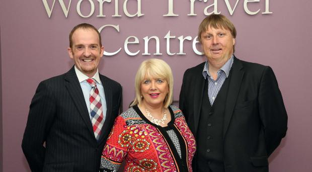 Keith Graham, Selective Travel Management, Delia and Stephen Aston, Clubworld Travel