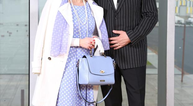 The best dressed couple Jacqueline and Robert McCarroll