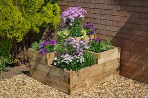 Caledonian raised bed