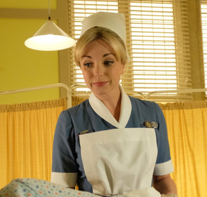 Helen George in the show