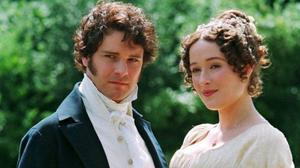 Jennifer Ehle with Colin Firth in Pride and Prejudice