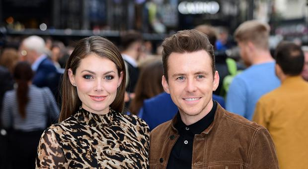 Danny Jones with wife Georgia