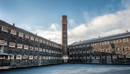 Crumlin Road Gaol has long been recognised as one of Northern Ireland's most haunted buildings