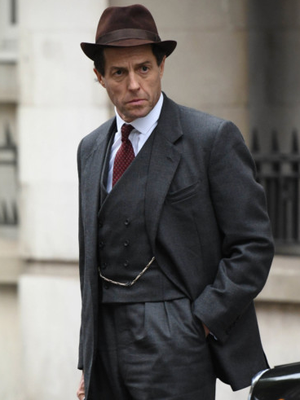 Eccentric role: Hugh Grant stars in A Very English Scandal