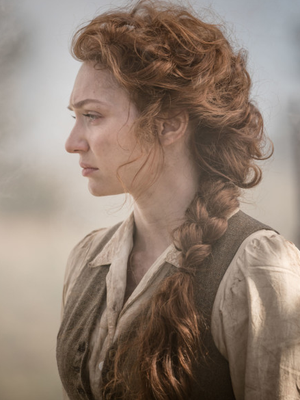 Eleanor Tomlinson, who plays Amy in new drama The War Of The Worlds