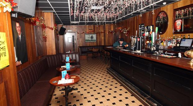 The Ulster Sports Club makes a virtue of its old-fashioned decor