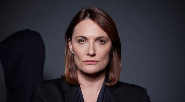 Sarah Parish as the title character in ITV's Bancroft