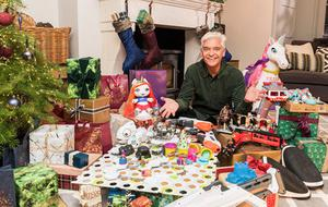 SEASON'S GREETINGS: Phillip Schofield on How To Spend It At Christmas