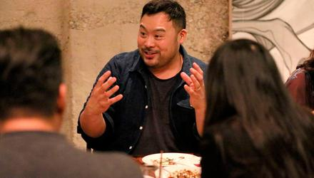 David Chang, who hosts Netflix's Ugly Delicious