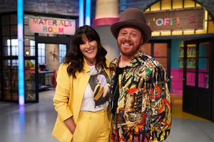 Anna Richardson and Keith Lemon in The Fantastical Factory Of Curious Craft