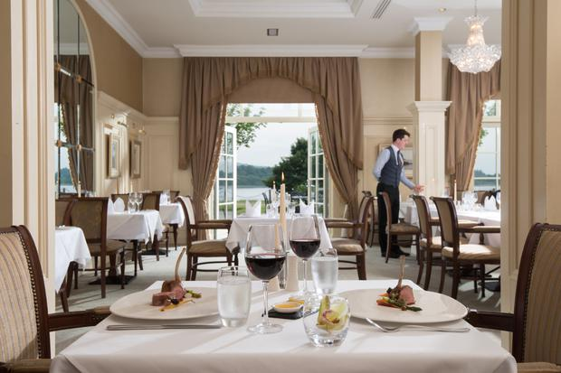 Catalina dining room at the Lough Erne Resort in Fermanagh