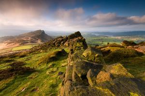 The Roaches in the Peak District.