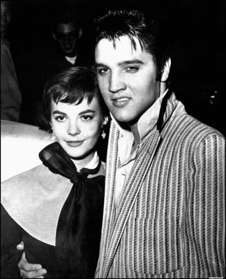 Natalie Wood with Elvis Presley