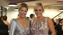 Claire and co-host Ruth Gorman at last year's awards