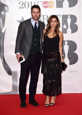 Jamie Redknapp with Louise