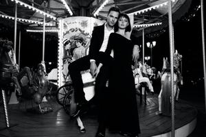 Nicholas Hoult and Italian actress and Alice Pagani star in the new Emporio Armani advertisement