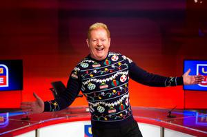 Julian Simmons' Christmas Jumper