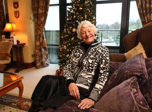 Mary Peters is looking forward to relaxing over Christmas