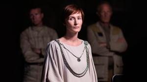 As Mon Mothma in Rogue One: A Star Wars Story