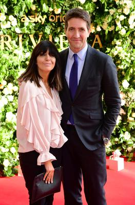 Claudia Winkleman and her husband Kris Thykier