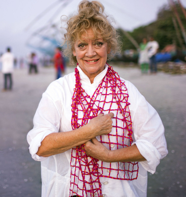 Busy lady: Amanda Barrie on BBC's The Real Marigold Hotel fly-on-the-wall documentary