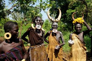 Photographing tribes in the Omo Valley is now considered exploitative