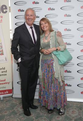 Gyles Brandreth with his wife, Michele Brown