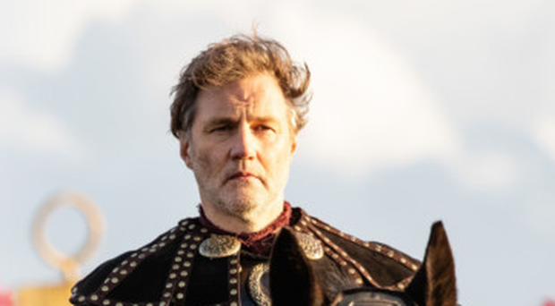 David Morrissey rides back for the new series of the Sky show