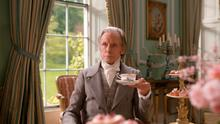 Pictured: Bill Nighy as Mr Woodhouse.