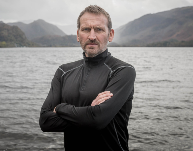 Christopher Eccleston in new series Safe House, which is set in the Lake District