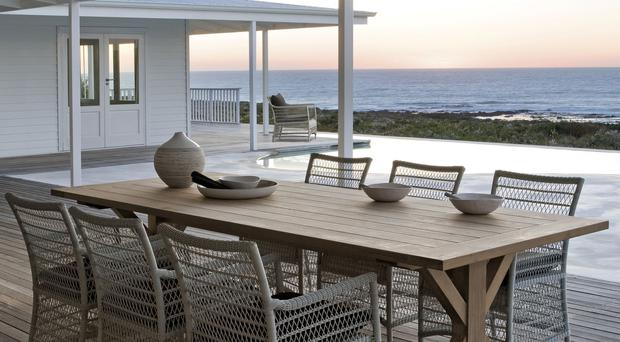 Manutti Livorno table and Malibu chairs, from gomodern.co.uk