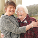 Arlene Foster and her mother Georgina