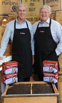 Cousins Ross and David, the third generation of Thompsons to run Punjana