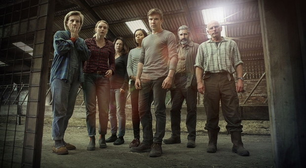 The ensemble cast of One of Us