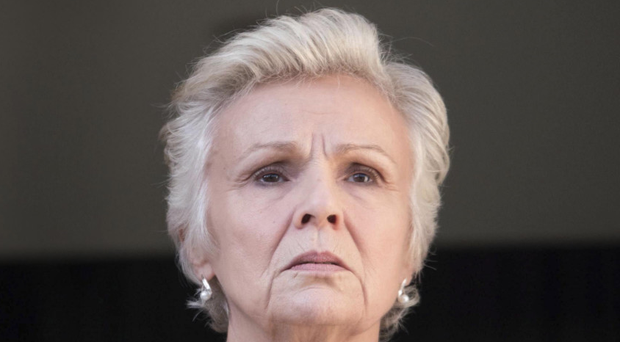 In torment: Marie Finchley (Julie Walters) in National Treasure