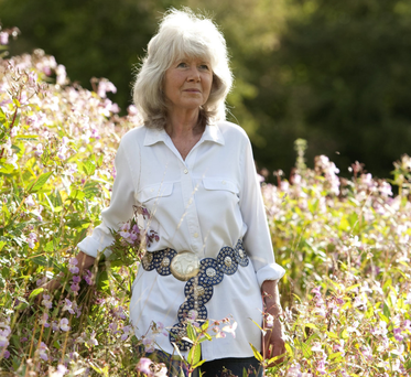 Sex sells: Author Jilly Cooper, who writes erotic fiction