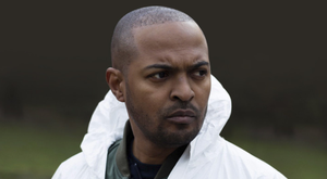 Cop out: Noel Clarke who plays Gunner Martin in The Level