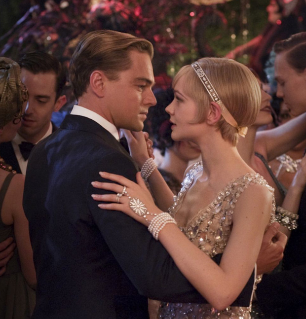 Carey Mulligan and Leonardo DiCaprio in The Great Gatsby film