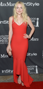 STAR ATTRACTION: Dakota Fanning hits the red carpet