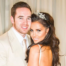 WEDDING DAY: Katie with her husband Kieran Hayler