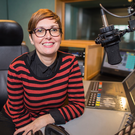 RIGHT TRACK: Marie-Louise Muir is a presenter on BBC Radio Ulster programmes Arts Extra and Sounds Classical