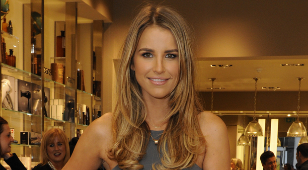 Vogue Williams donned her DJ hat for the launch party of Space NK Grafton Street in 2014
