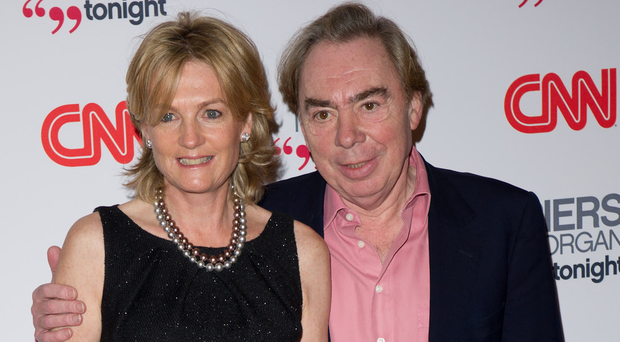 MUSIC MAN: Andrew Lloyd Webber and his wife Madeleine Gurdon