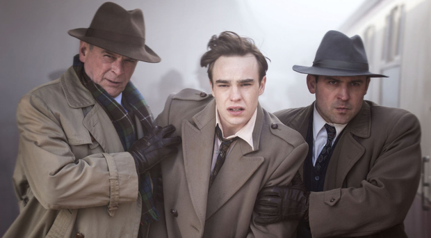 Real-life drama: Nico Mirallegro (middle) in Rillington Place