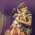Nancy Zamit as Annie and Greg Tannahill as Jonathan in Peter Pan Goes Wrong