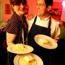 Bia Rebel's Jenny Holland and Brian Donnelly who serve up a variety of dishes