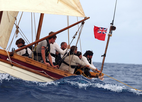 DANGEROUS VOYAGE: the nine-strong crew replicating Mutiny on the Bounty
